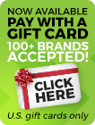 Pay buy gift card with Paygarden